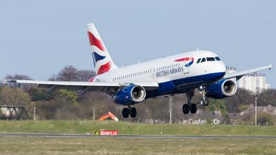 A picture of GEUPM - Airbus A319131 - British Airways - © Kyle McKinlay