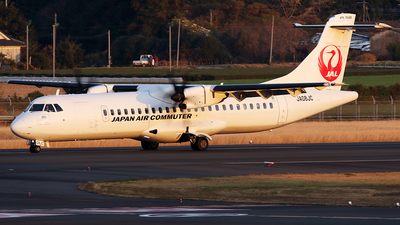 A picture of JA08JC - ATR 72600 - Japan Air Commuter - © *DaVe*