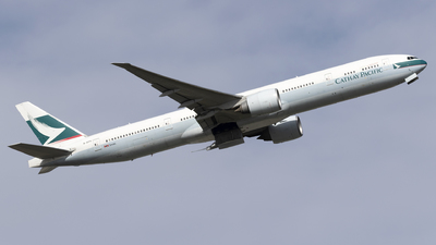 A picture of BKPS - Boeing 777367(ER) - Cathay Pacific - © Dan Smith