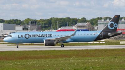 D-AVZP - Airbus A321-251NX - La Compagnie