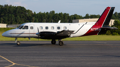 N72RA - Embraer EMB-110P1 Bandeirante - Private