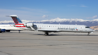 A picture of N708SK - Mitsubishi CRJ701ER - American Airlines - © Michael Rodeback
