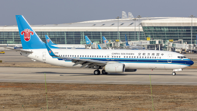 A picture of B1296 - Boeing 73781B - China Southern Airlines - © Eric Wang