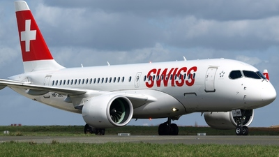 A picture of HBJBE - Airbus A220100 - Swiss - © jeanbaptiste eric