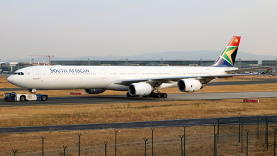 ZS-SND - Airbus A340-642 - South African Airways