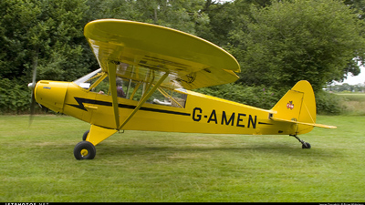 G-AMEN - Piper L-18C Super Cub - Private