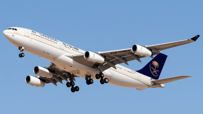HZ-HMS2 - Airbus A340-213X - Saudi Arabia - Royal Flight