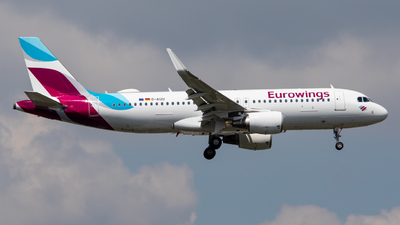 A picture of DAIZU - Airbus A320214 - Eurowings - © Marvin Knitl