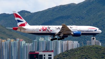 A picture of GYMML - Boeing 777236(ER) - British Airways - © Jayden Fu