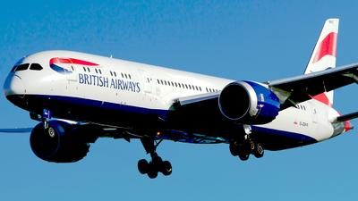 A picture of GZBKR - Boeing 7879 Dreamliner - British Airways - © M. Azizul Islam