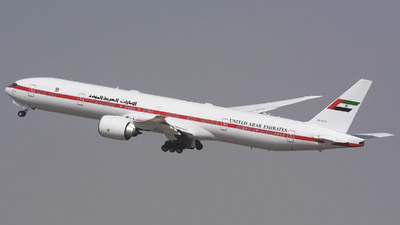 A6-SIL - Boeing 777-35RER - United Arab Emirates - Abu Dhabi Amiri Flight