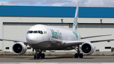 A picture of N420LA - Boeing 767316F(ER) - MasAir Cargo Airline - © Michael Durning