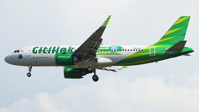 PK-GTI - Airbus A320-251N - Citilink