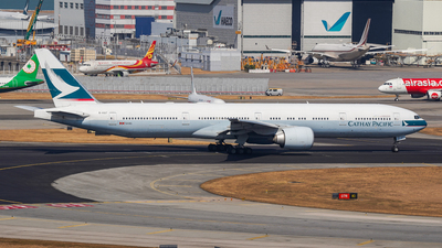 B-KQT - Boeing 777-367ER - Cathay Pacific Airways