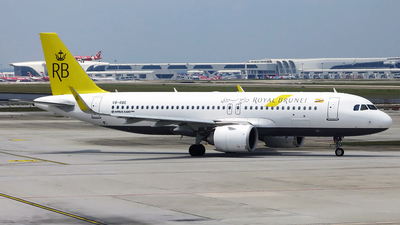 V8-RBE - Airbus A320-251N - Royal Brunei Airlines