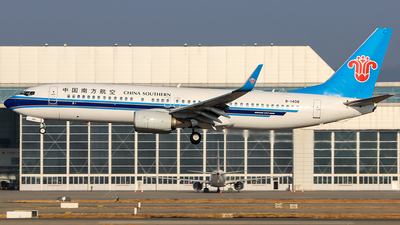 A picture of B1408 - Boeing 73781B - China Southern Airlines - © ChengFJ