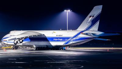 A picture of RA82047 - Antonov An124100 Ruslan - VolgaDnepr Airlines - © Daniel Kotronis