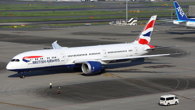 A picture of GZBKJ - Boeing 7879 Dreamliner - British Airways - © kouyagi