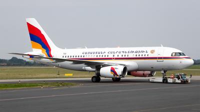 701 - Airbus A319-132(CJ) - Armenia - Government