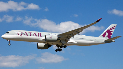 A7-AMG - Airbus A350-941 - Qatar Airways