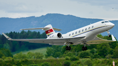 A picture of HBJKP - Gulfstream G650 - Jet Aviation Business Jets - © Gerhard Vysocan