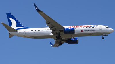 TC-JHC - Boeing 737-8F2 - AnadoluJet
