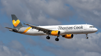 YL-LCZ - Airbus A321-211 - Thomas Cook Airlines