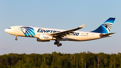 SU-GCE - Airbus A330-243P2F - EgyptAir Cargo