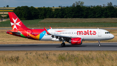 A picture of 9HNEC - Airbus A320251N - Air Malta - © Frantisek Sindelar
