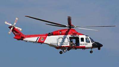 M72-01 - Agusta-Westland AW-139 - Malaysia - Maritime