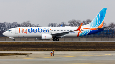 A picture of A6FEQ - Boeing 7378KN - FlyDubai - © IhorKolesnyk