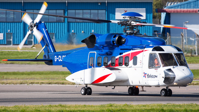 A picture of GCLGH - Sikorsky S92A Helibus - Bristow Helicopters - © Kyle McKinlay