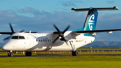 A picture of ZKNEF - De Havilland Canada Dash 8300 - Air New Zealand - © Braedyn King