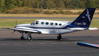 N6672C - Cessna 414A Chancellor - Cape Air