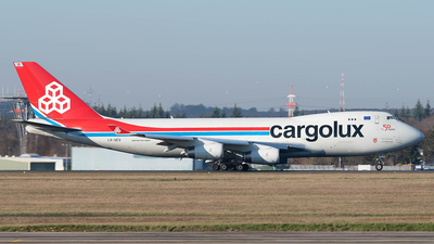 LX-UCV - Boeing 747-4R7F(SCD) - Cargolux Airlines International