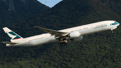 B-KQO - Boeing 777-367ER - Cathay Pacific Airways