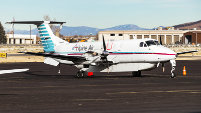 N133BA - Beech 1900C - Alpine Air
