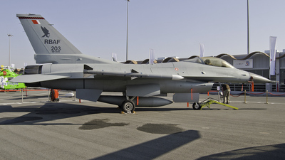 203 - Lockheed Martin F-16C Fighting Falcon - Bahrain - Air Force