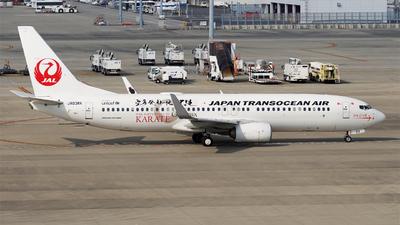 JA03RK - Boeing 737-8Q3 - Japan TransOcean Air (JTA)