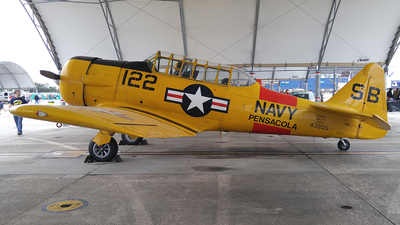 N246WR - North American SNJ-5 Texan - Private