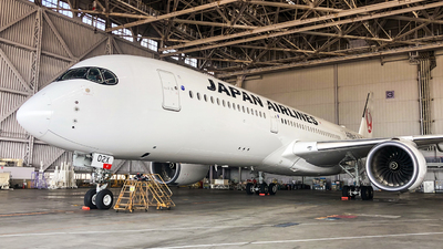 JA02XJ - Airbus A350-941 - Japan Airlines (JAL)