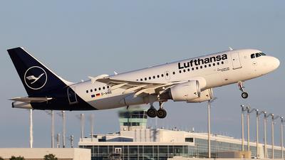 A picture of DAIBE - Airbus A319112 - Lufthansa - © Philipp Schuetz