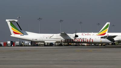 ET-AQB - Bombardier Dash 8-Q402 - Ethiopian Airlines