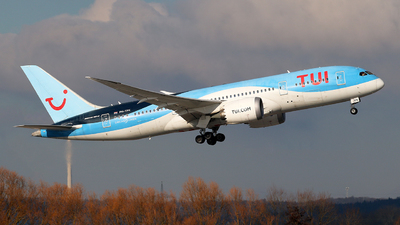 PH-TFK - Boeing 787-8 Dreamliner - TUI