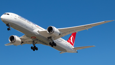 A picture of TCLLJ - Boeing 7879 Dreamliner - Turkish Airlines - © CJMAviation