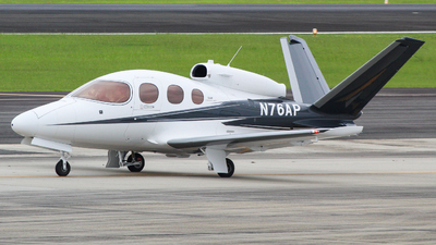 N76AP - Cirrus Vision SF50 G2 - Private