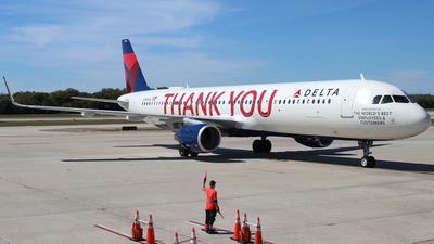 N391DN - Airbus A321-211 - Delta Air Lines
