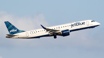 A picture of N193JB - Embraer E190AR - JetBlue Airways - © Bora Polater