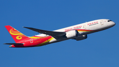 A picture of B2722 - Boeing 7878 Dreamliner - Hainan Airlines - © Óscar López Herrero