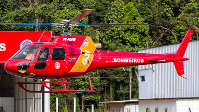 PT-HMW - Helibrás HB-350B Esquilo - Brazil - Military Firefighters